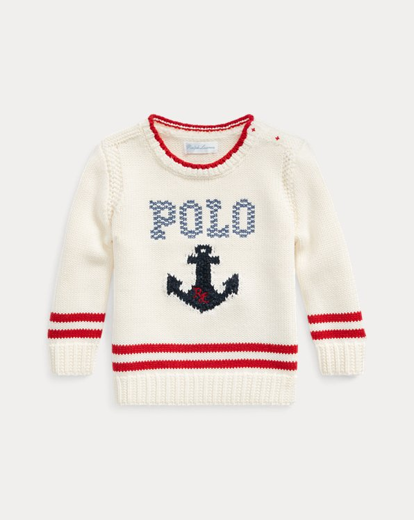 Anchor Logo Cotton Jumper