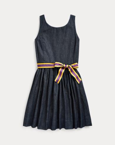Indigo Cotton Dress