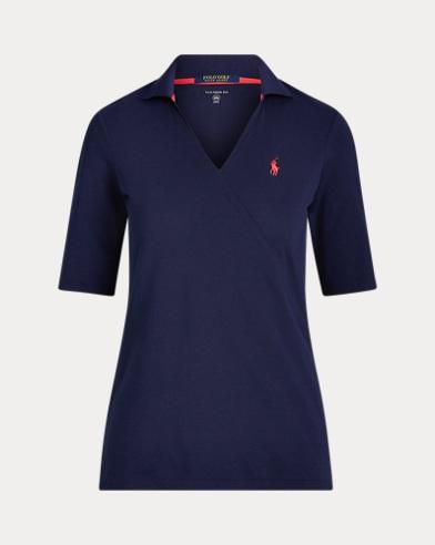 Elbow-Length-Sleeve Golf Shirt