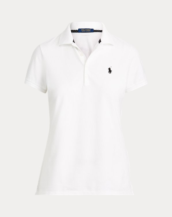 Tailored Fit Pique Golf Polo