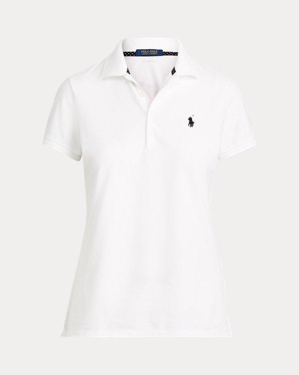 Polo da golf in piqué Tailored-Fit