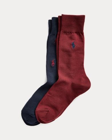 Deux paires de chaussettes poney