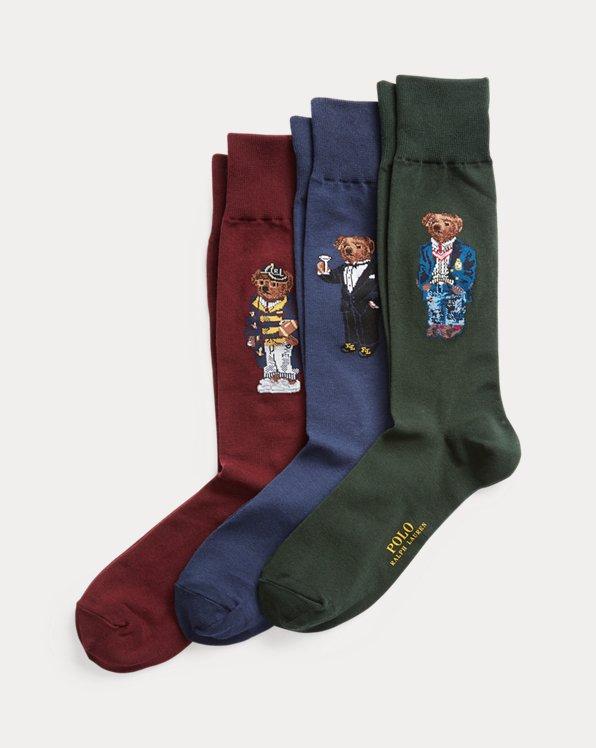 Polo Bear Dress Sock Gift Set