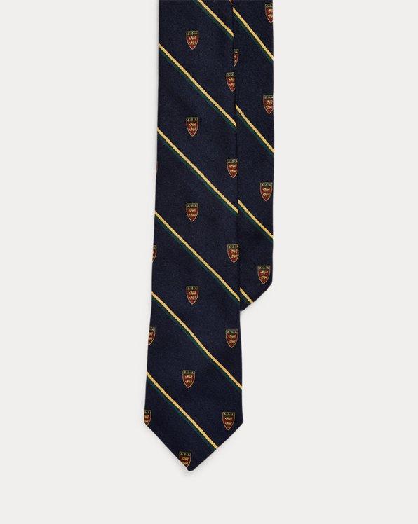Striped Narrow Club Tie