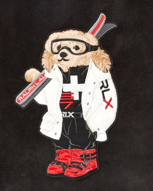 Ralph Lauren Sac à dos en daim Polo Ski Bear 5