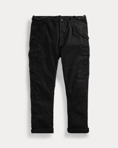 Pantaloni cargo camouflage Slim-Fit
