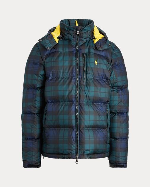 Tartan Down Jacket