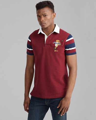 Camisade rugby Custom Slim Fit con Polo Bear