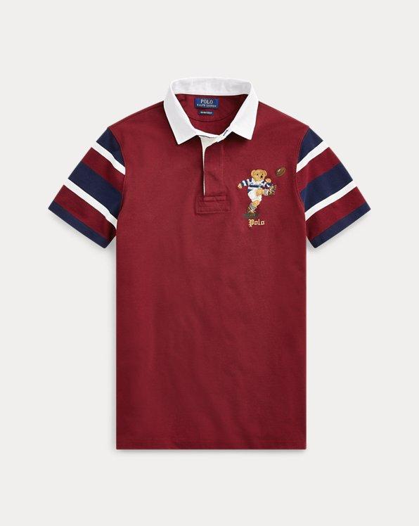 Custom Slim Fit Bear Rugy shirt