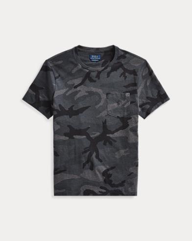 T-shirt camouflage ultra cintré