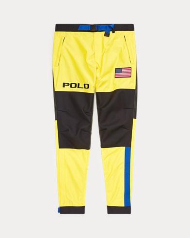 Pantalon graphique en color-block