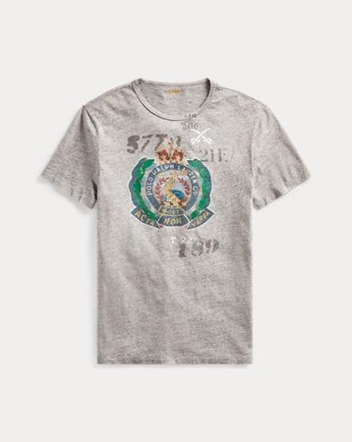 T-shirt graphique classique jersey