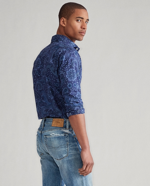 Slim Fit Paisley Print Shirt by Ralph Lauren
