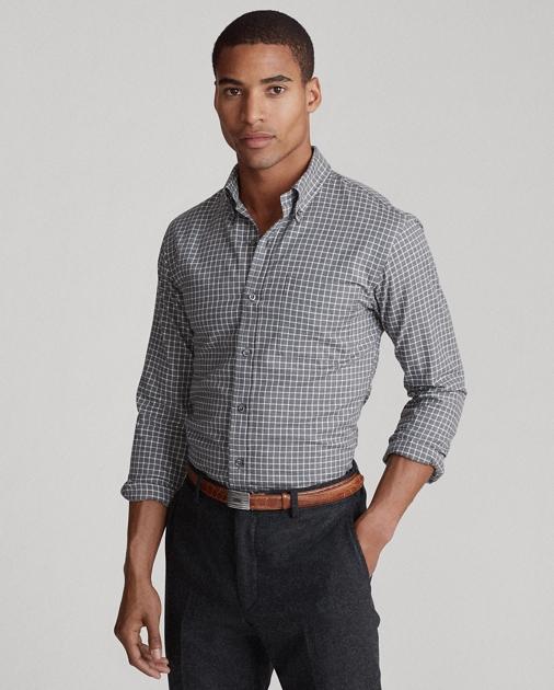 Polo Ralph Lauren Camicia in twill scozzese Custom-Fit 1