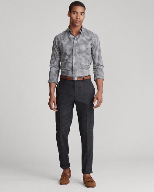 Polo Ralph Lauren Camicia in twill scozzese Custom-Fit 3