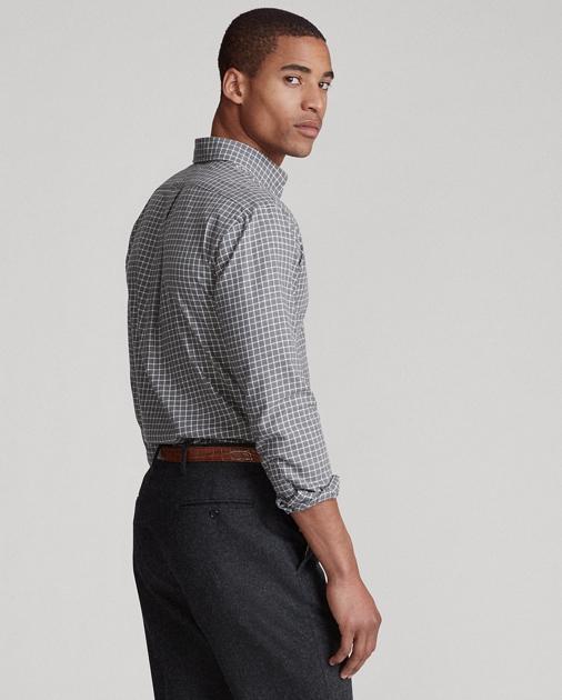 Polo Ralph Lauren Camicia in twill scozzese Custom-Fit 4