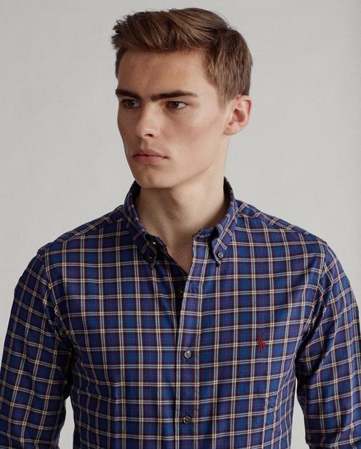 Polo Ralph Lauren Custom Fit Plaid Twill Shirt 1