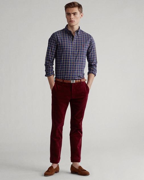 Polo Ralph Lauren Custom Fit Plaid Twill Shirt 3