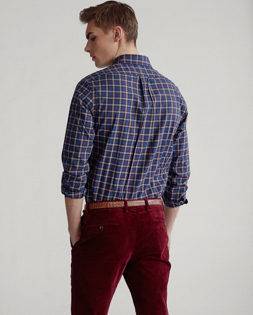 Polo Ralph Lauren Custom Fit Plaid Twill Shirt 4