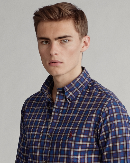 Polo Ralph Lauren Custom Fit Plaid Twill Shirt 5