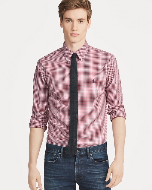 Polo Ralph Lauren Camicia vichy Custom-Fit 1