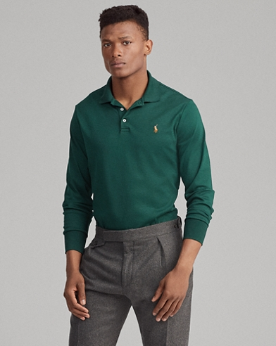 Custom Slim Fit Interlock Polo