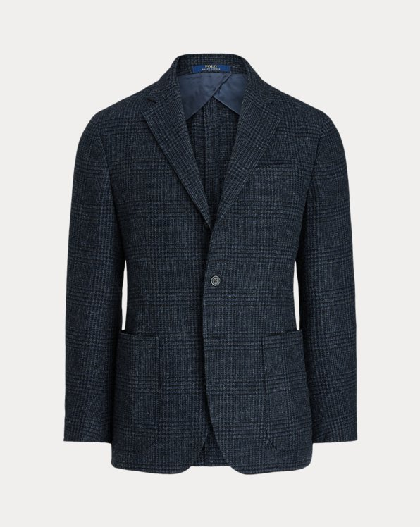 Glen Plaid Suit Jacket
