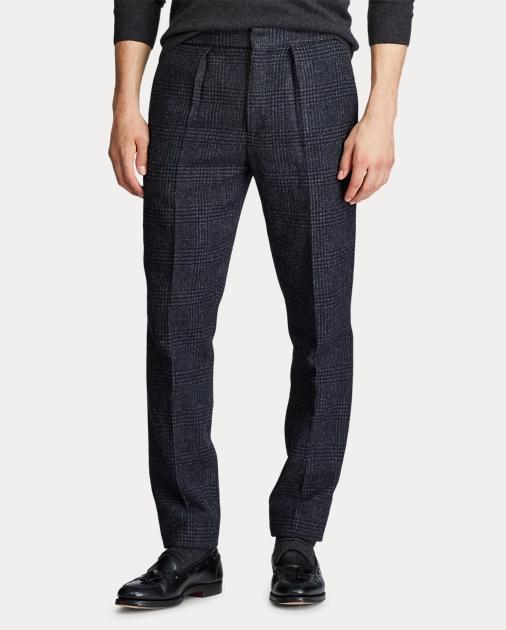 Polo Ralph Lauren Pantalones de traje Polo con cuadros Glen 3