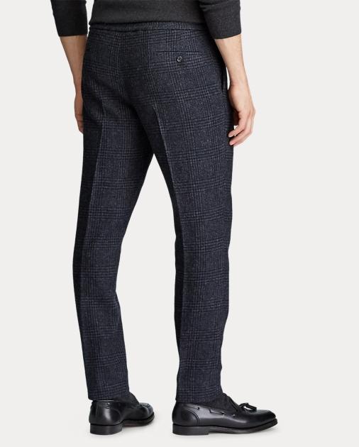 Polo Ralph Lauren Pantalones de traje Polo con cuadros Glen 4