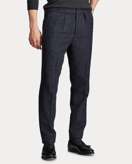 Polo Ralph Lauren Pantalones de traje Polo con cuadros Glen 5