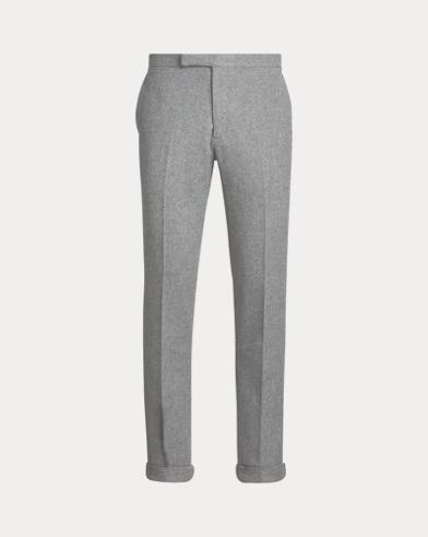 Polo Wool-Blend Tweed Trouser