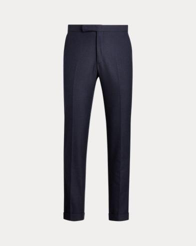 Pantalones Polo en algodón y lana