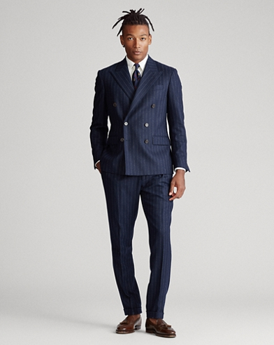 Polo Striped Stretch Suit