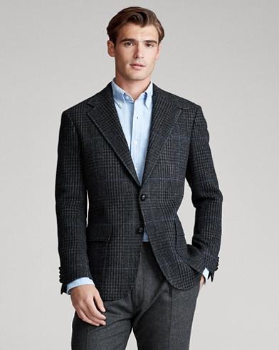 The RL67 Plaid Suit Jacket
