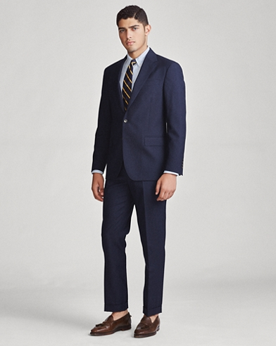 Polo Wool Twill Suit