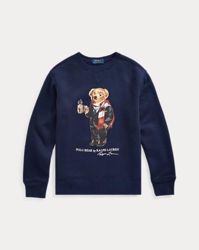 Fleece-Sweatshirt mit Cocoa Bear