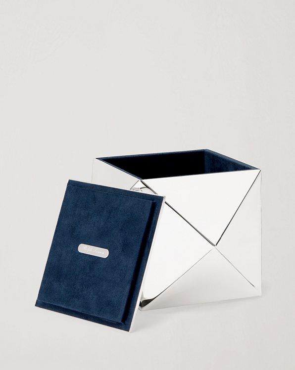 Raina Silver-Plated Box