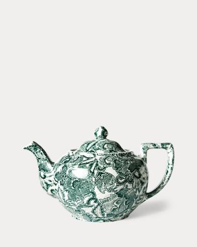 Faded Peony Teapot