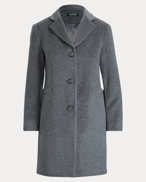 Lauren 3-Button Wool-Blend Coat 1
