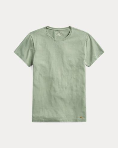 Garment-Dyed Crewneck Tee