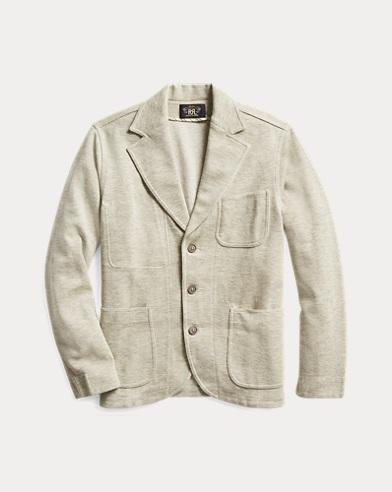Wool-Blend Jersey Blazer