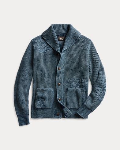 Distressed Cotton Cardigan
