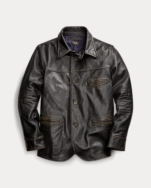 quality design 85779 1c592 Leather Car Coat