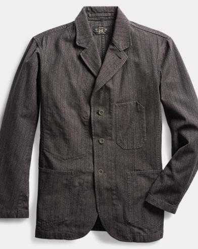 Slim Jaspé Twill Sport Coat