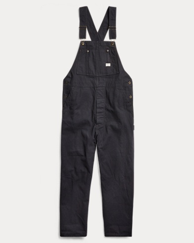 Striped Twill Overall
