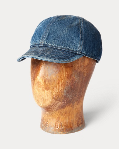 Cappellino militare in denim
