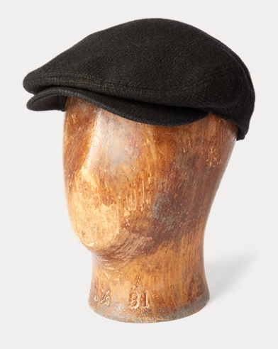 Glen Plaid Wool Driver Cap
