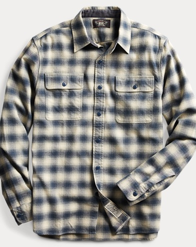 Plaid Cotton-Wool Workshirt