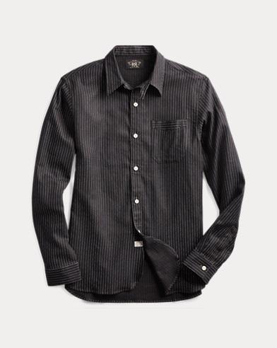 Striped Twill Workshirt