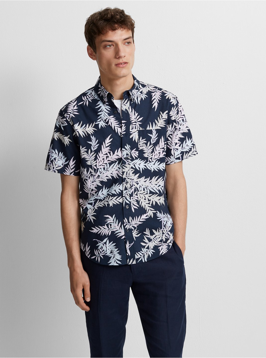 Slim Bosque Floral Shirt